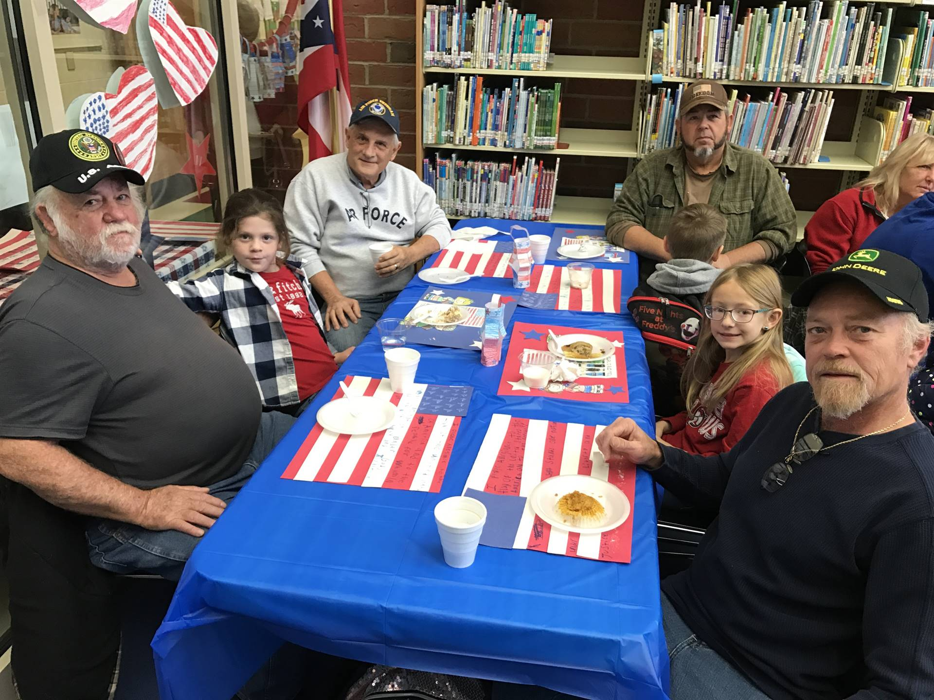 Students and Veterans Attending 2017 Program