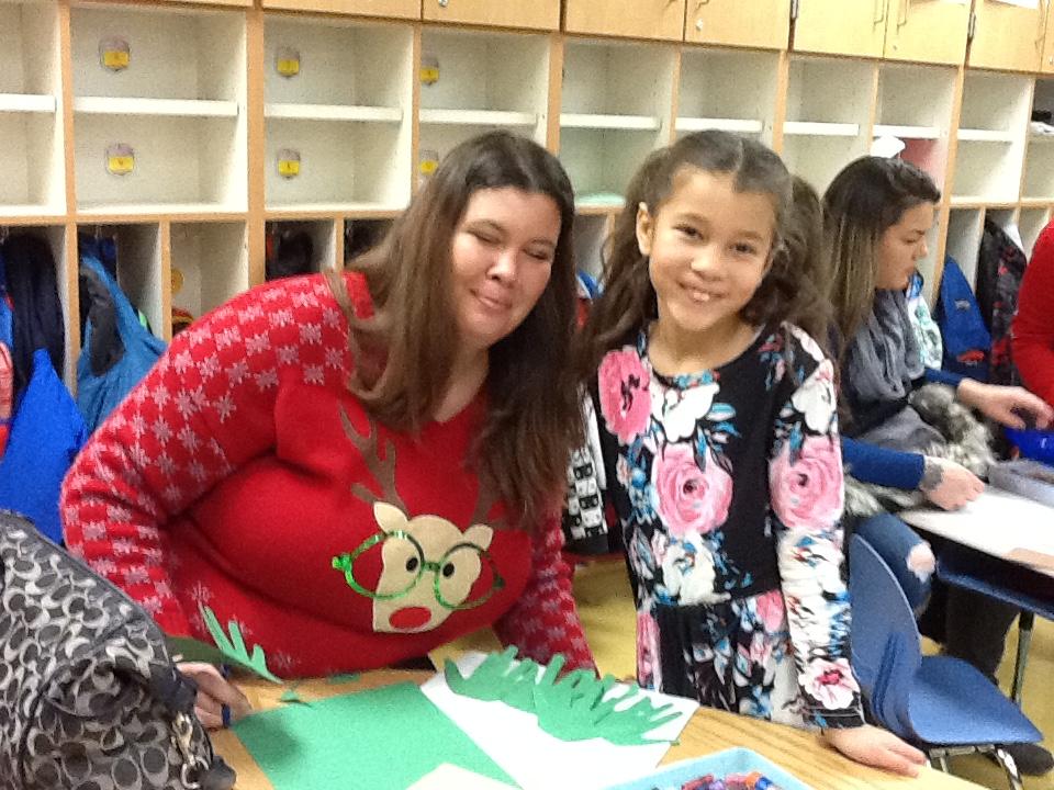 Christmas in Mrs. Fell's Room