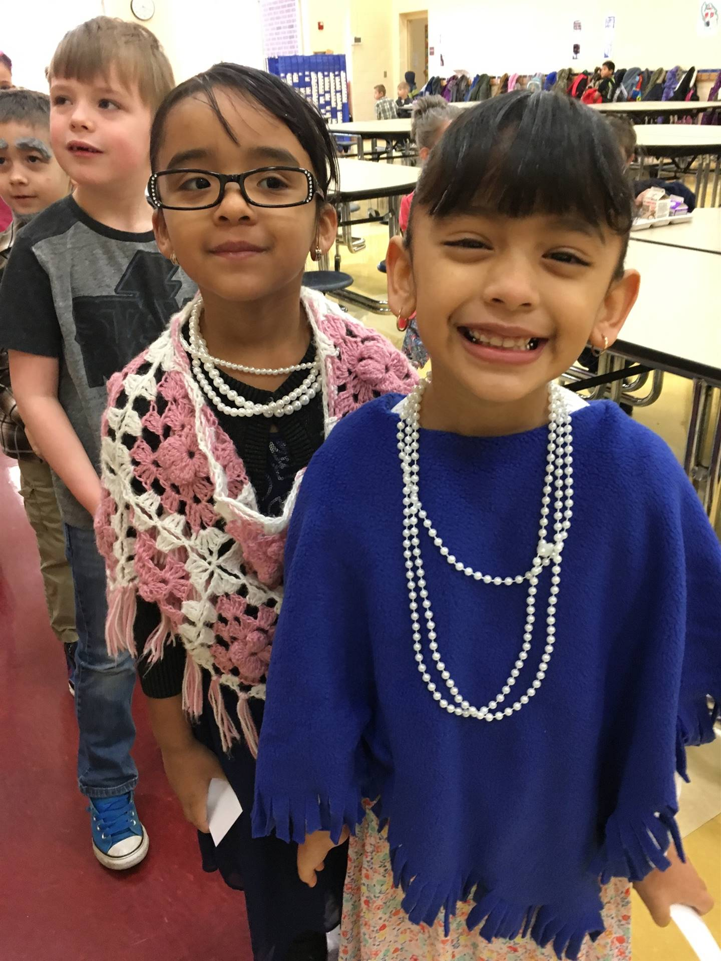 100th Day of School - We are Dressed like we are 100 years old!