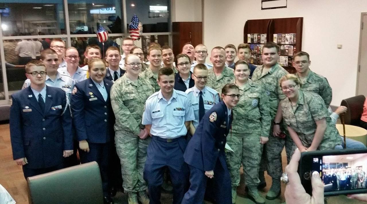 ROTC Honor Flight