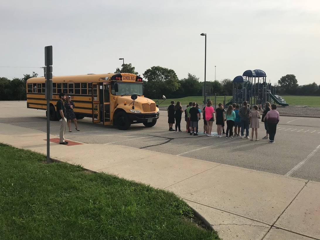 School bus safety training day