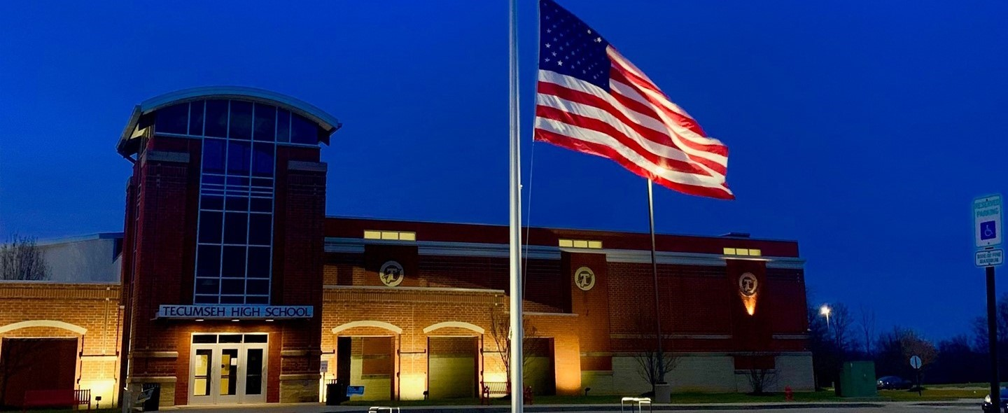 Half staff flag for SSG Wesley Williams