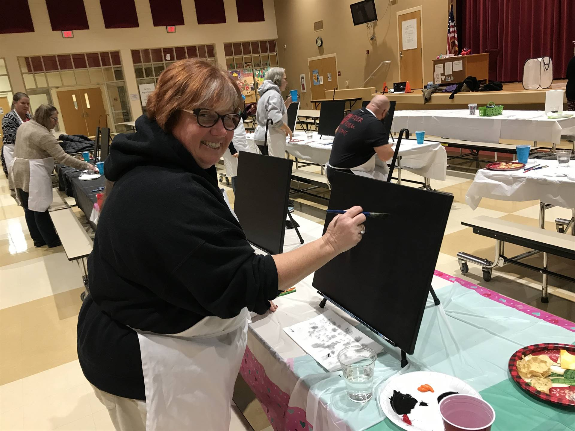 Arrow Parent Nation Teacher Painting