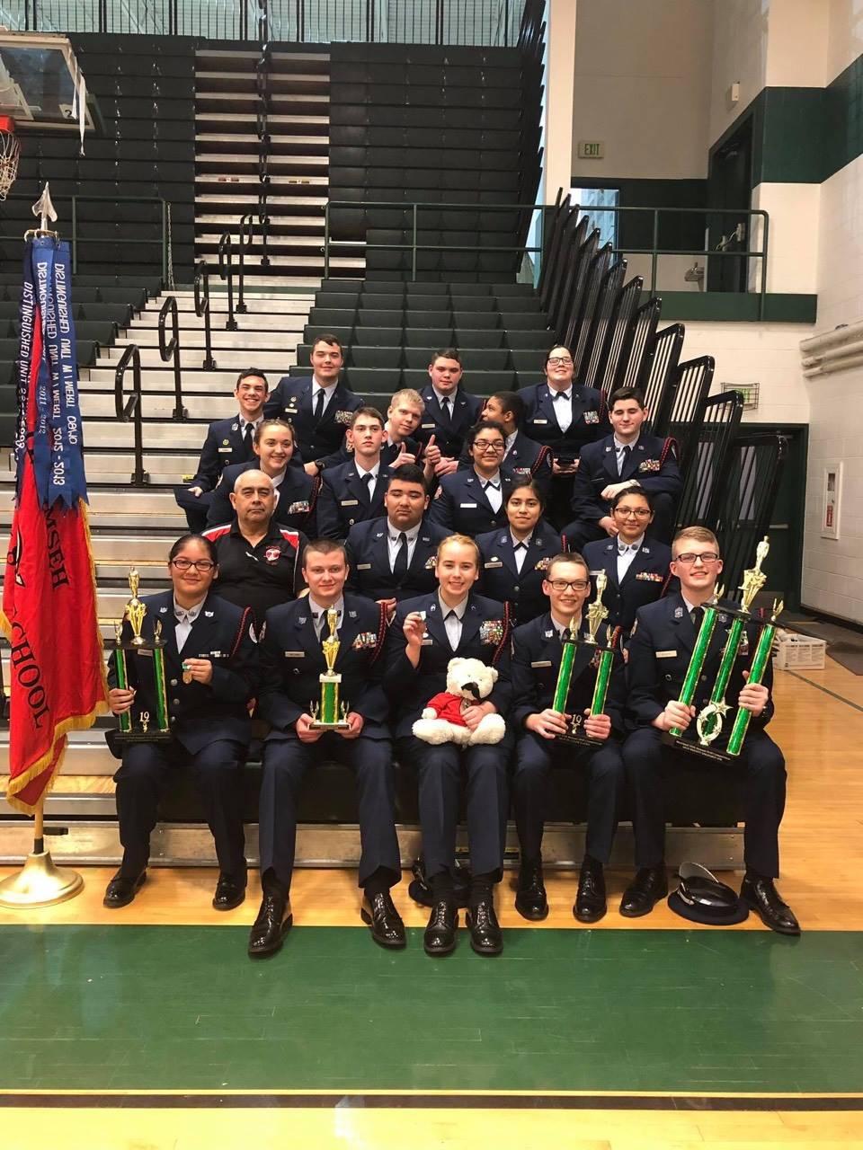 ROTC Feb Drill Meet