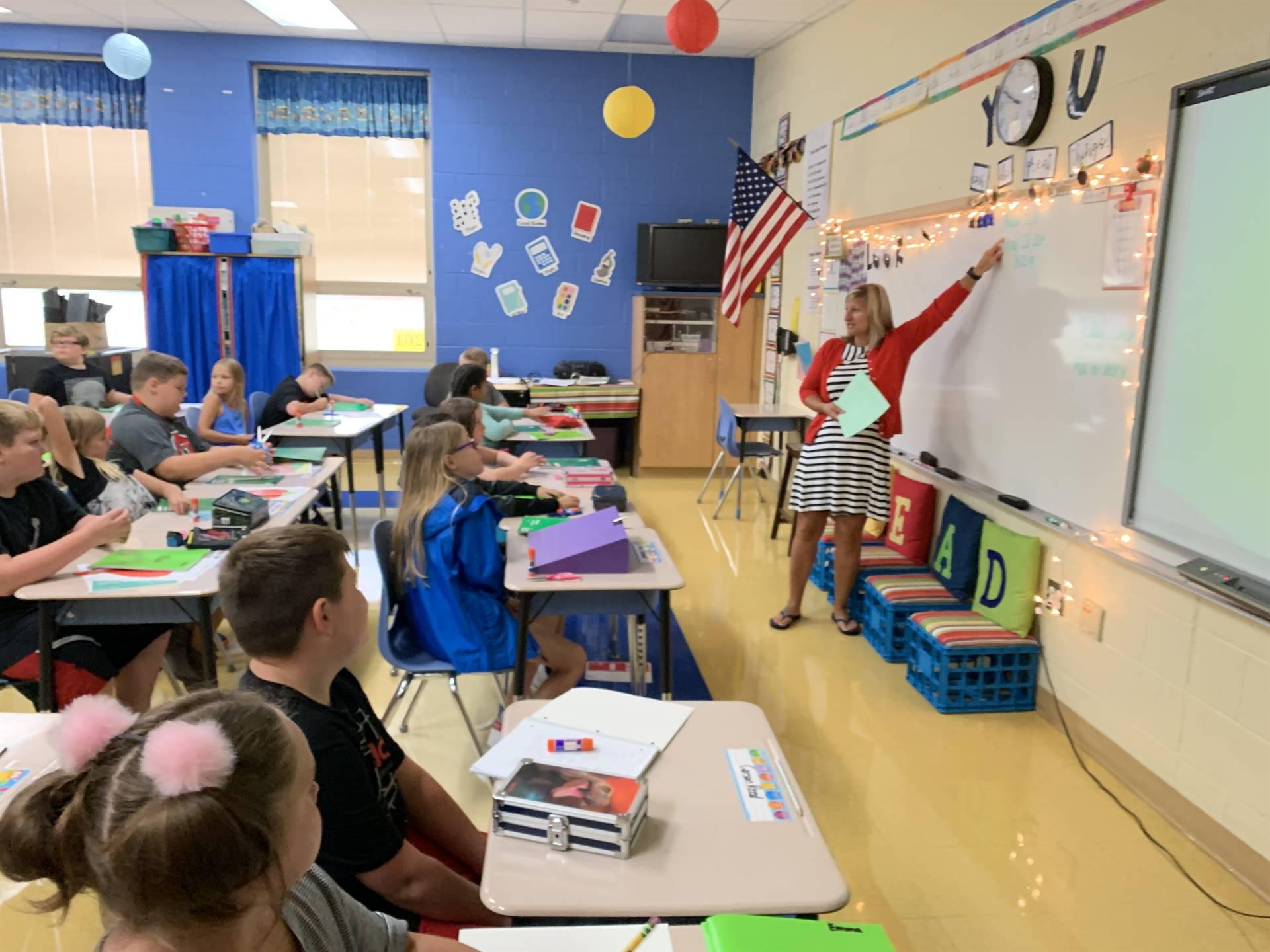Mrs. Weymouth's classroom