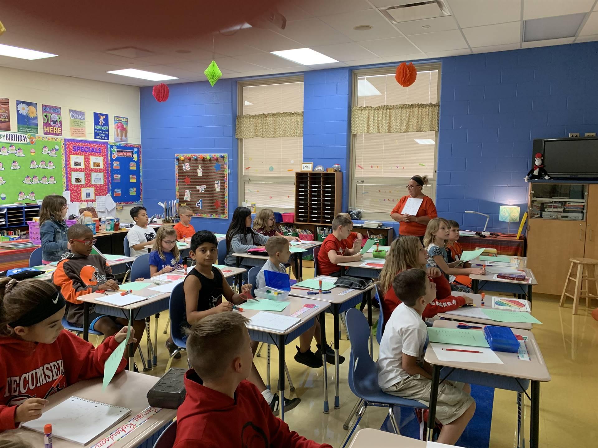 Mrs. Cooper's classroom