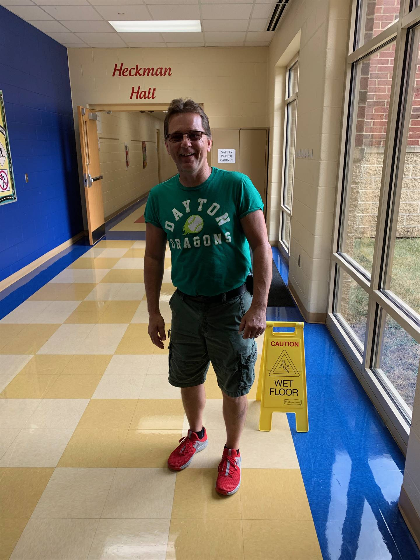 New custodian at NCE