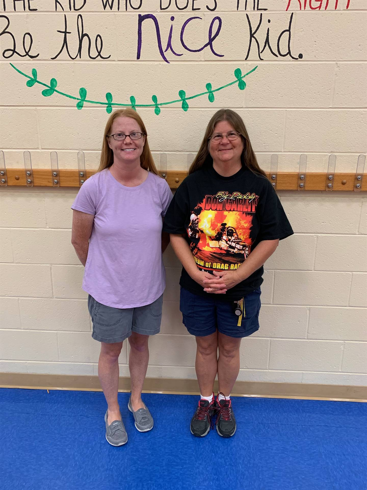 New cafeteria workers at NCE