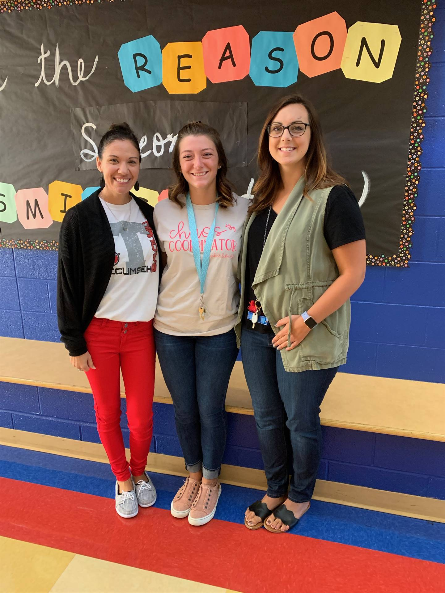 New secretary, intervention specialist, and 4th grade teacher at NCE