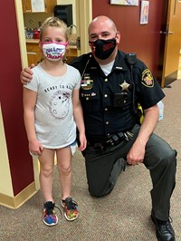 Deputy Loney is our friend and helps keep us safe!