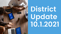 District update 10-1-2021
